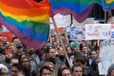 Thousands March for LGBT Rights!